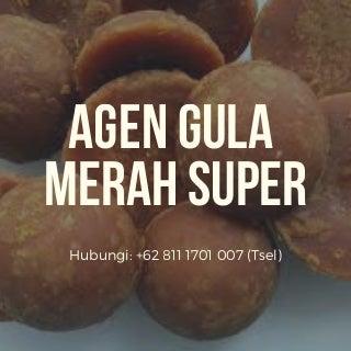 READY STOK WA +62 811-1701-007, Gula Merah Koin Super di Semarang