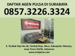 Agen pulsa keputih surabaya - 081357868500