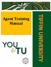 Tiffin University Agent training manual by Study Metro
