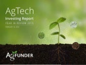 Agritech Funder Investing report 2015