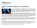 Agile Financial Technologies & MAIA Intelligence to facilitate BI to BFSI