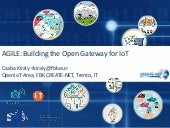 AGILE: Building the Open Gateway for IoT