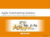 Agile contracting games (xp days 2012)