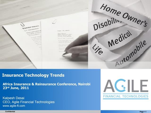 Insurance Technology Trends