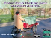 Product Owner Challenge - Agile in the City Birmingham 2017