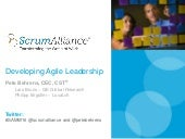 Developing Agile Leadership