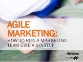 Agile Marketing: How To Run Your Marketing Team Like a Startup