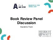 Book Review: Discussion Panel by Hind Zantout, Dr. Mohamed Salama, René Vohlert Rasmussen, Dr. Taha Elhag and Amos Haniff