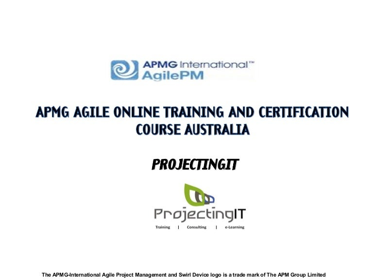 Apmg Agile Project Management Certification Course In Australia