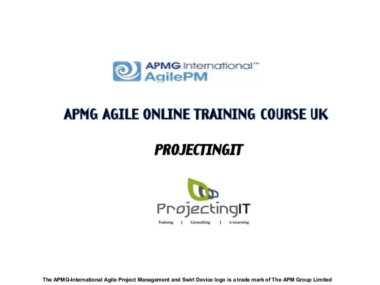 Apmg Agile Project Management Certification Course In Uk