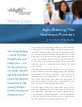 Agile Planning for Healthcare Providers