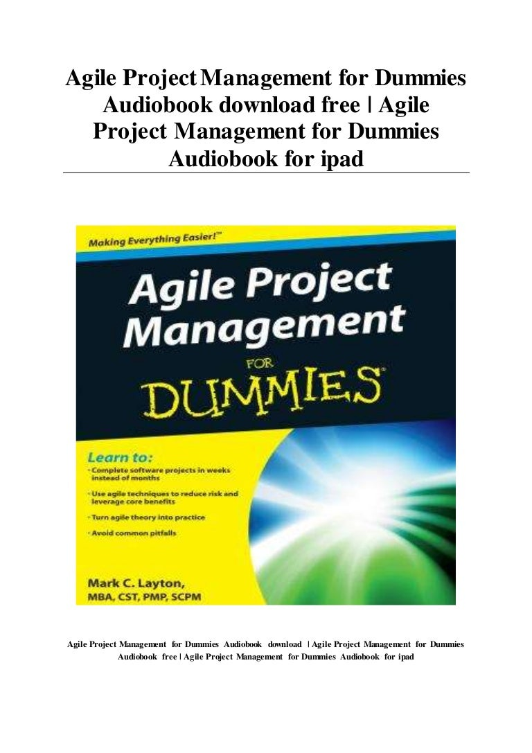 software project management for dummies free download