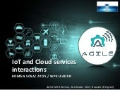 IoT and Cloud services interactions