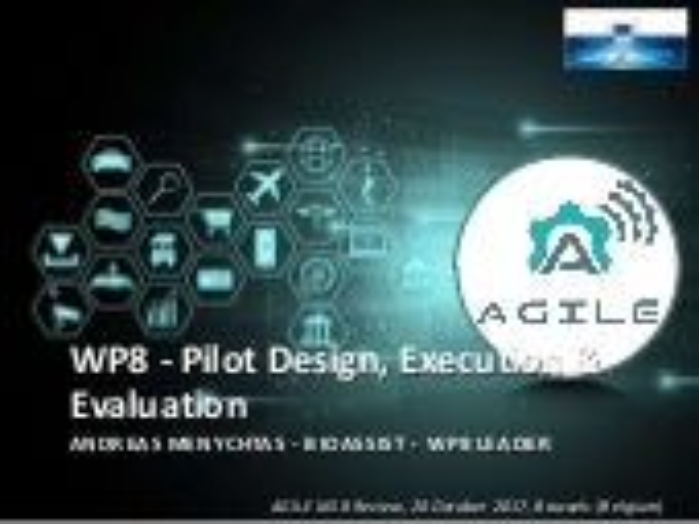 Pilot Design, Execution & Evaluation