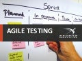 Agile Testing - Testing from Day 1