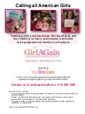 American Girl mchd donation for Yes She Can Inc.