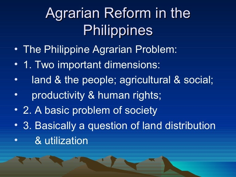 land reform and taxation essay Agrarian reform - (wider than land reform) the term comprises not only land reform but also the reform and development of complimentary institutional taxes - are the enforced proportional contributions from persons and property levied by the law-making body of the state by virtue of its.