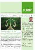 "Agricultural Dialog - Precaution or ""better not at all""? - September 2012"