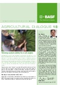 Agricultural Dialog - Viewing sustainability from all angles - March 2013