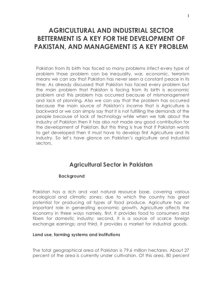 Short Essay On Agriculture In Pakistan - image 2