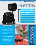 Agriculture Power Breezer Outdoor Cooling System
