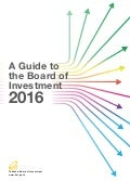 A Guide to the Board of Investment (2016)