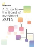 A Guide to the Board of Investment (September 2016 Revision)