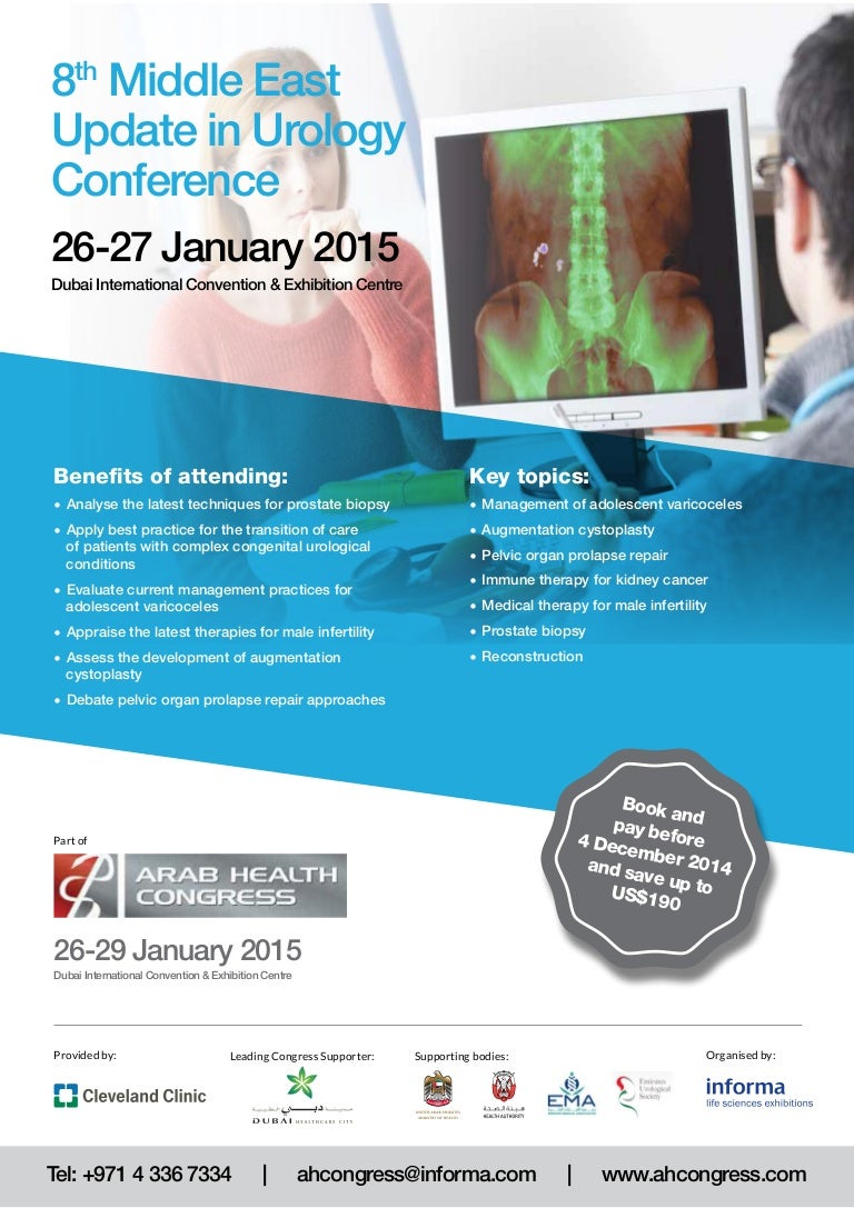 8th Middle East Update in Urology Conference