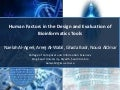 Human Factors in the Design and Evaluation of Bioinformatics Tools