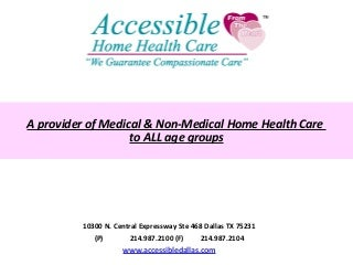 Home health agency marketing plan