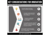 Key Considerations for Innovation