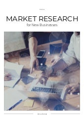 Market Research for New Businesses
