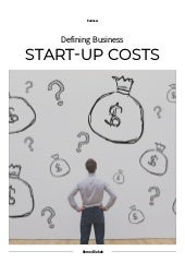 Defining Business Start-Up Costs