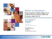 Dollars to Doughnuts: Predicting Prescription Drug Costs of Beneficiaries and the Medicare Program Under Part D