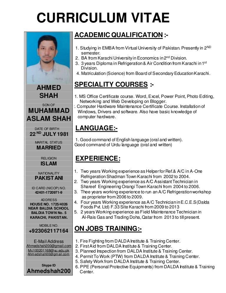 Ahmed shah AC Technician