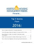 Assisted Housing Management Insider Compendium 2016