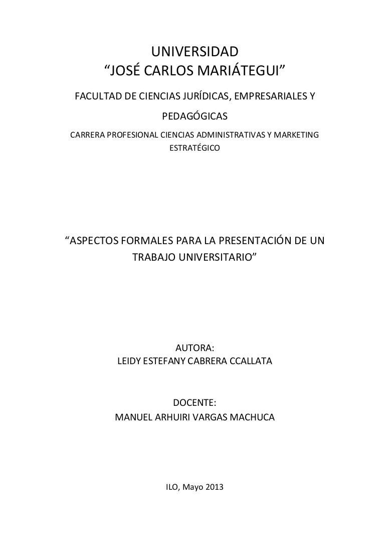 Aspectos formales para la presentaci n de un trabajo for Paginas de chimentos de argentina