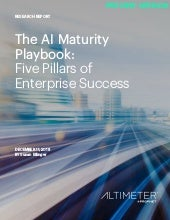 [REPORT PREVIEW] The AI Maturity Playbook: Five Pillars of Enterprise Success