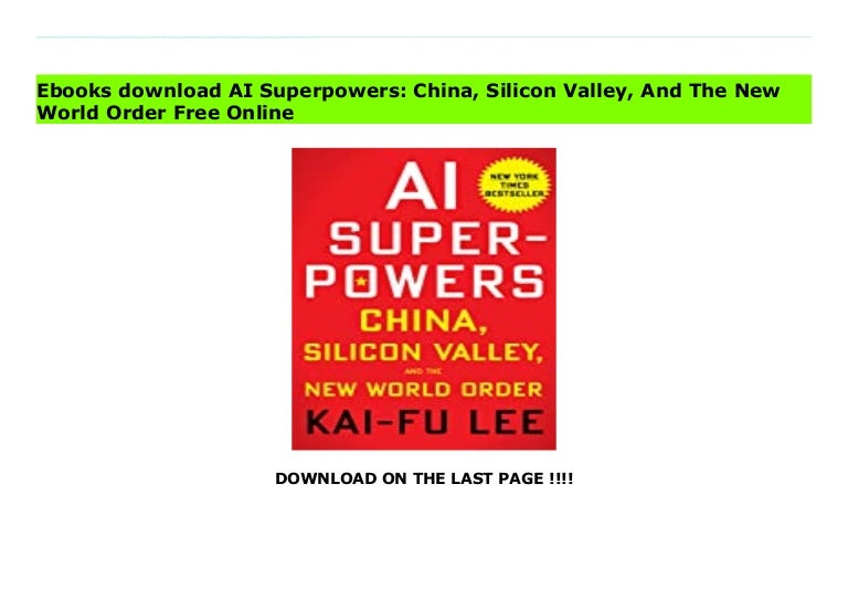 ai superpowers china silicon valley and the new world order 211003083545 thumbnail 4