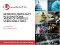 NETWORK CENTRALITY IN SUB-NATIONAL AREAS OF INTEREST USING GDELT DATA