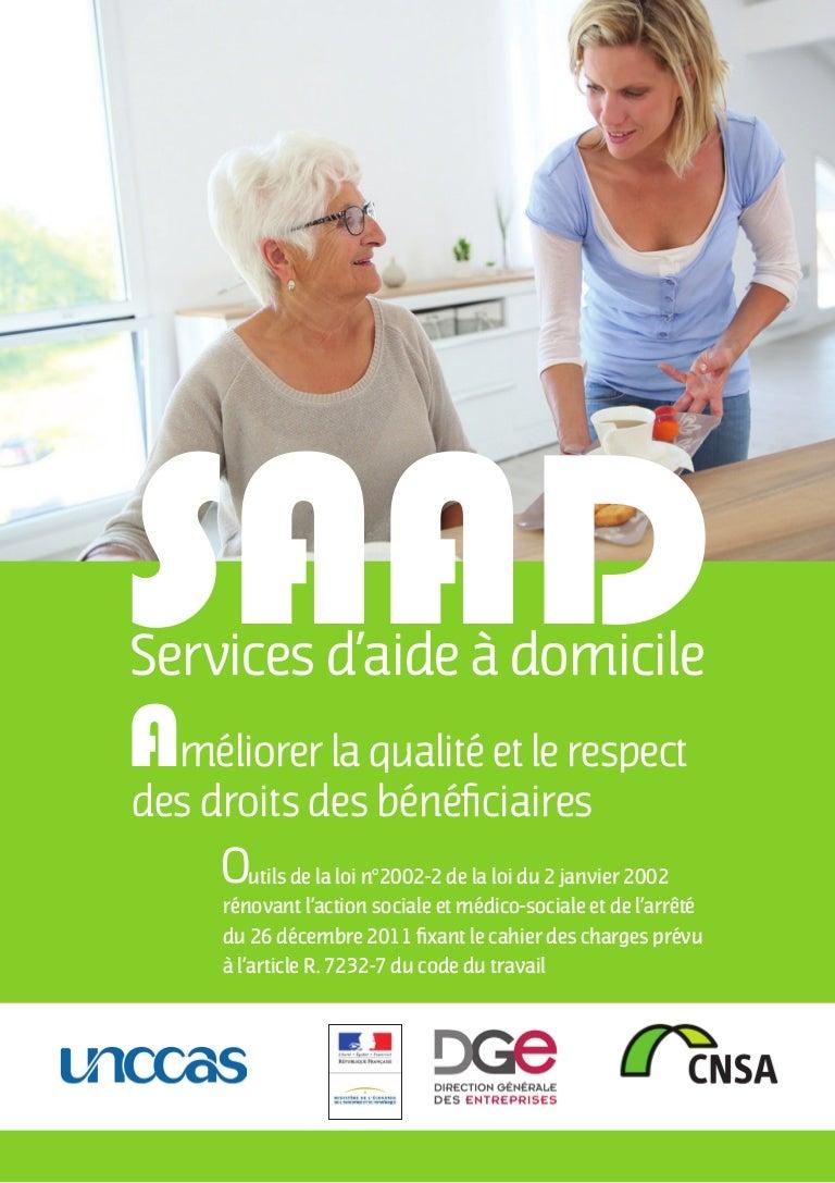 Services Daide A Domicile Ameliorer La Qualite Et Le Respect Des D