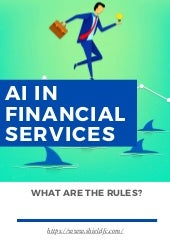 AI in Financial Services – What are the Rules?
