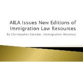 AILA Issues New Editions of Immigration Law Resources