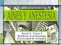 Aines Y Anestesia