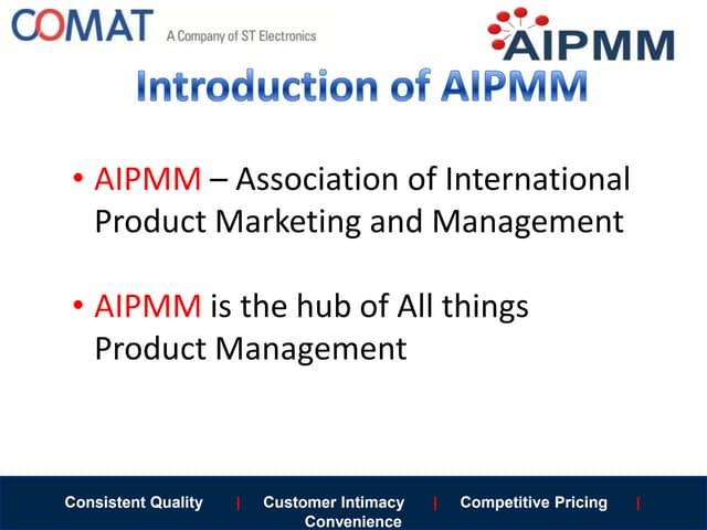 AIPMM Certificate
