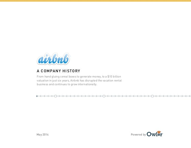 Owler Company Timeline: Airbnb
