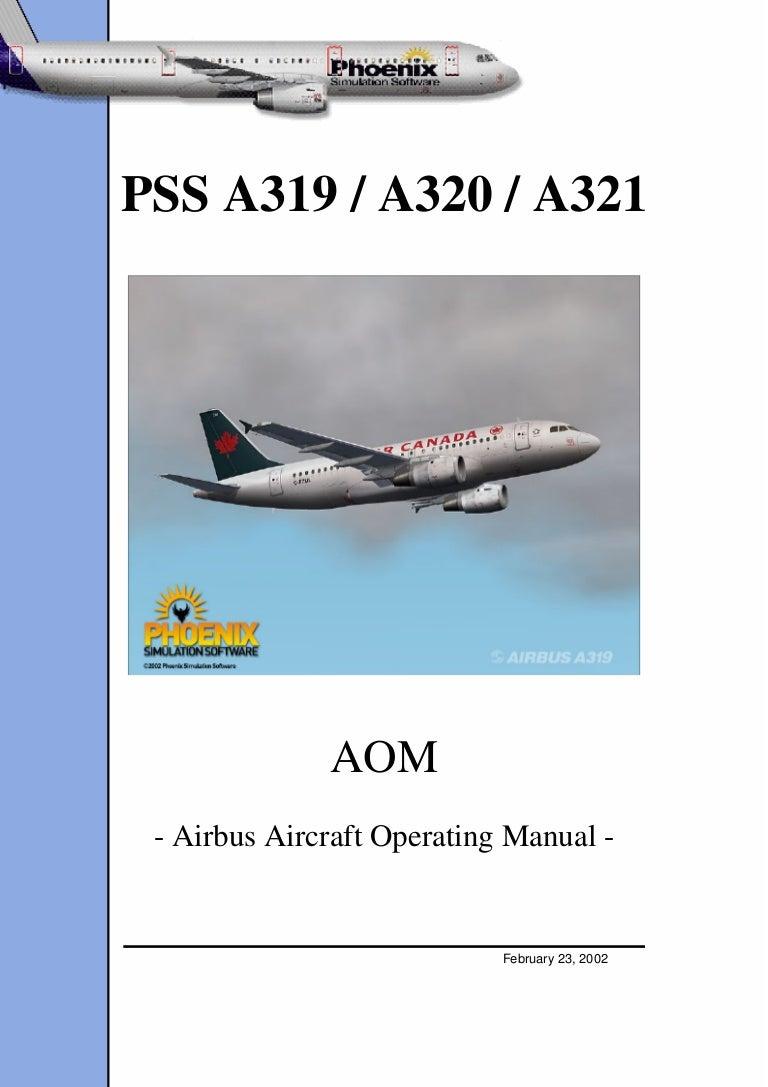 airbus a320 aircraft operation manual rh slideshare net