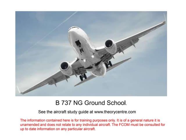 B737NG Aircraft general