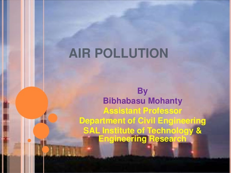 Its pdf pollution and control air origin