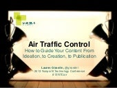 Air Traffic Control: How to Guide Your Content From Ideation, to Creation, to Publication